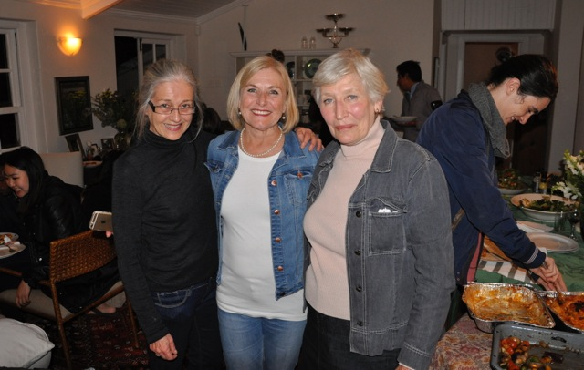 Shannon Dowdall, Gail Symmington (UCT academic advisor for SSA) and Isabella